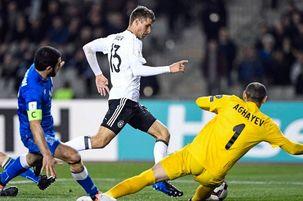 پیروزی پرگل آلمان مقابل آذربایجان/ انگلیس از سد لتونی گذشت