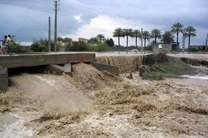 جاری شدن سیلاب و طغیان رودخانه های هرمزگان