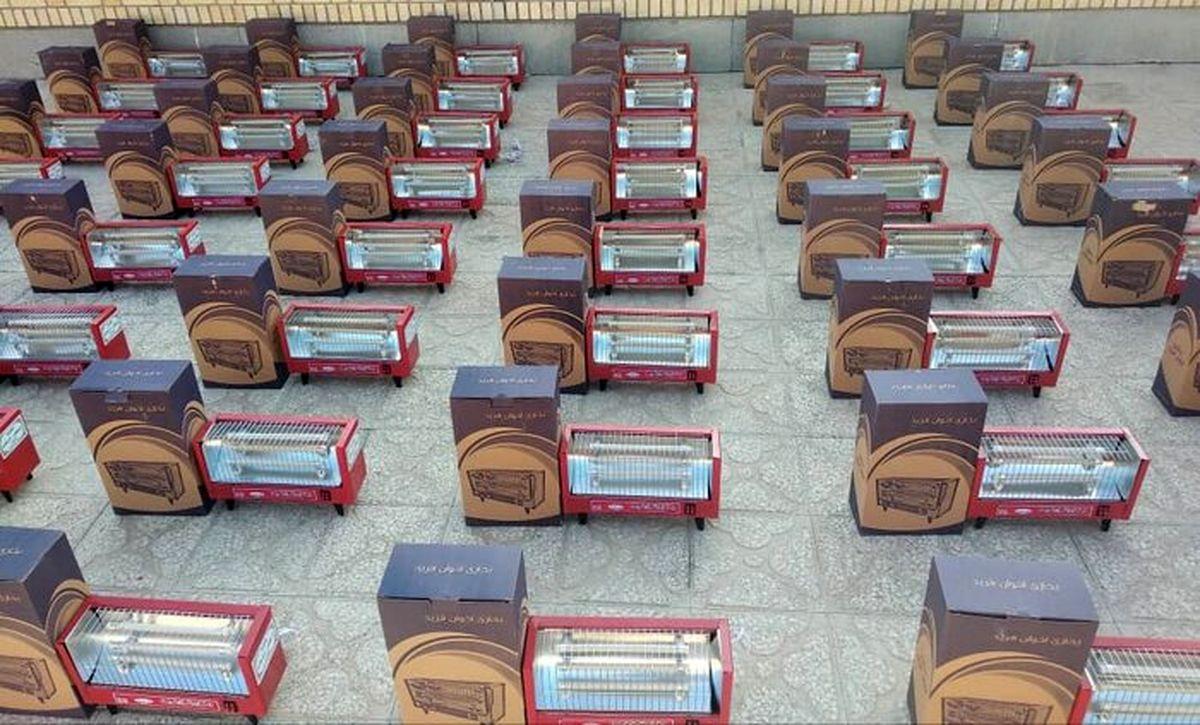 ۱۱۱۰ دستگاه لوازم گرمایشی بین نیازمندان هرمزگانی توزیع شد