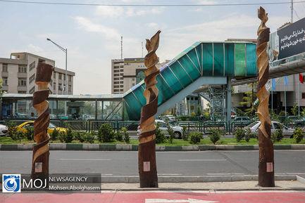 بازدید اصحاب رسانه از پروژه های منطقه ۹ تهران