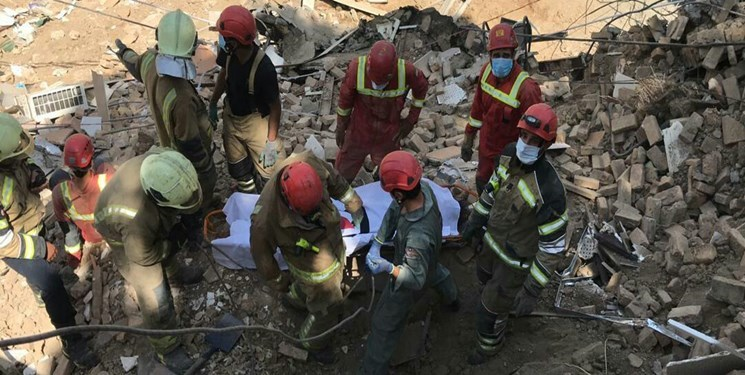 فوت 3 کارگر محبوس شده در زیر آوار
