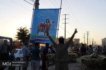بازار عرضه بهداشتی دام در کرمانشاه