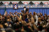 دیدار جمعی از شرکتکنندگان در اردوهای راهیان نور با مقام معظم رهبری