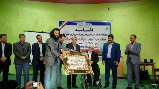 خانه سوم بچه های کوچصفهانی عنوان برترین کانون تابستانی گیلان را به خود اختصاص داد