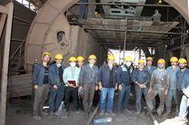 تعمیرات اساسی واگن برگردان آگلوماشین شرکت با موفقیت انجام شد