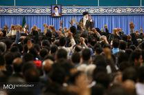 نمایندگان به دیدار رهبر انقلاب رفتند