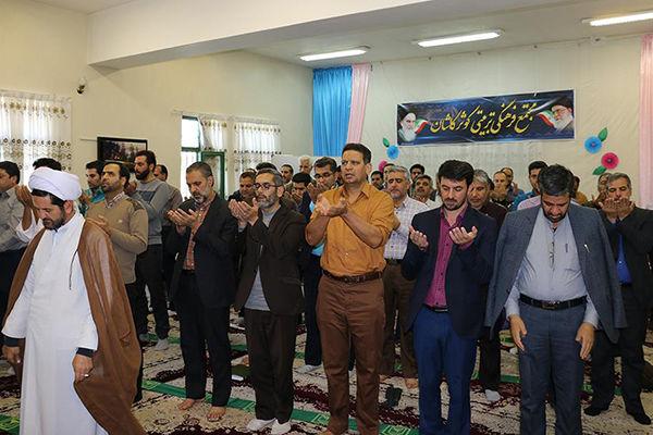 کسب عنوان شایسته تقدیر ویژه در زمینه نماز توسط کمیته امداد اصفهان