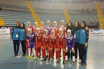 پیروزی تیم ملی فوتسال بانوان مقابل چک