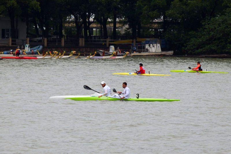 تیم ملی ماراتن آبهای آرام در سومین مرحله اردوی تدارکاتی در بندر انزلی به آب می زند