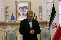 لاریجانی با رئیس مجلس عراق دیدار کرد