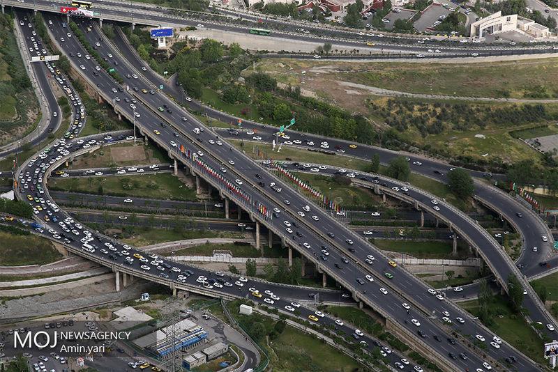 وضعیت ترافیکی بزرگراه های تهران در صبح 12 آبان اعلام شد