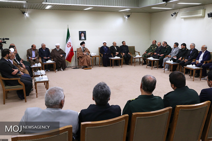 دیدار دستاندرکاران کنگره بزرگداشت ۶۵۰۰ شهید استان کرمان با مقام معظم رهبری