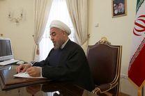 رئیس جمهور از تلاش کاروان ایران در رقابتهای المپیک قدردانی کرد