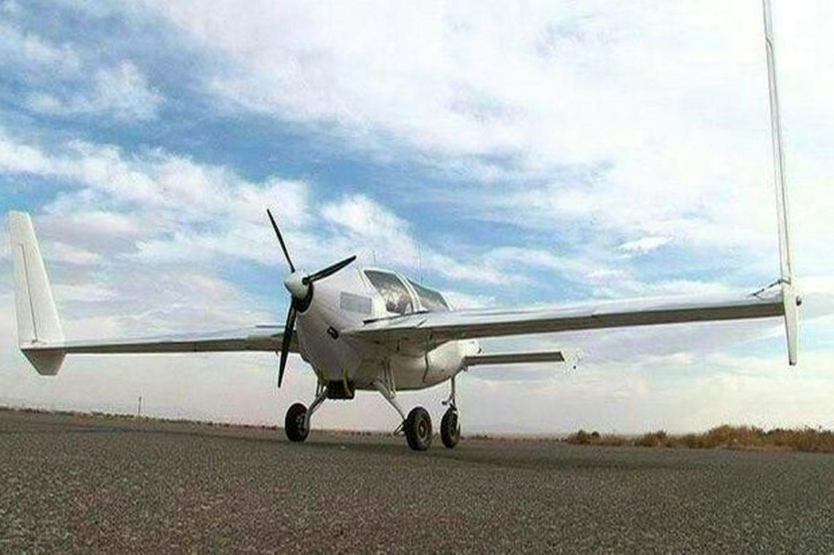 سقوط هواپیمای آموزشی حوالی فرودگاه شهرکرد