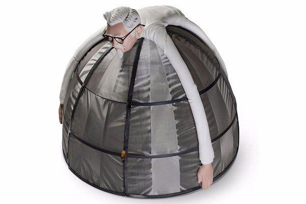 چادری برای فرار از اینترنت ساخته شد