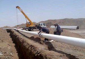 آغاز عملیات اجرایی گاز رسانی به 4 روستای حاجی آباد