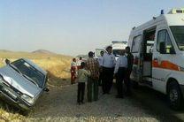 ۱۲ مصدوم براثر دو تصادف در اسلام آبادغرب