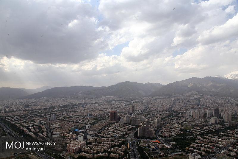 کیفیت هوای تهران ۱ فروردین ۹۹/ شاخص کیفیت هوا به ۶۹ رسید