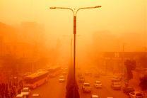هوای مناطق مرزی کرمانشاه با دید افقی کمتر از 100 متر از مرز هشدار گذشت