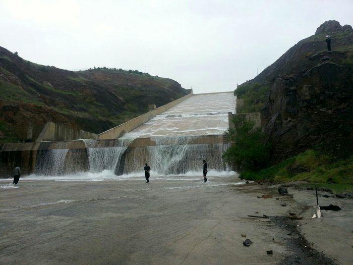 سر ریز شدن سدهای کردستان آغاز شد