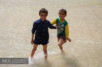مهمانان نوروزی زاینده رود اصفهان