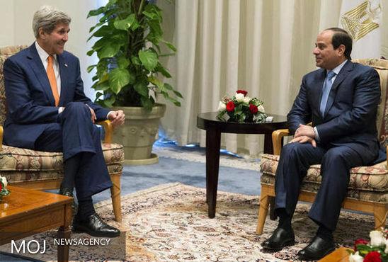 السیسی و کری درباره سوریه و لیبی گفتوگو کردند