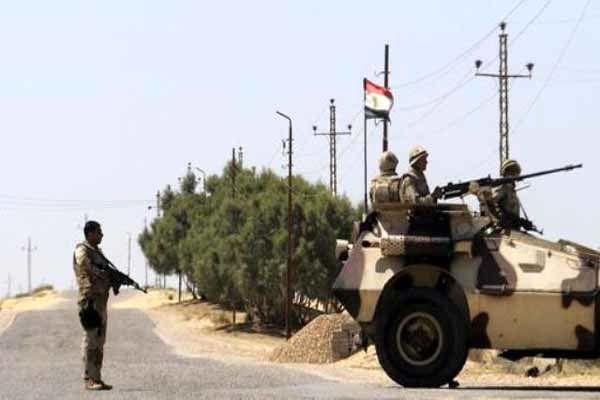 کشته شدن مظنون حمله مسلحانه اخیر در سینای مصر