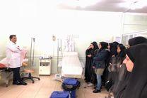 آشنایی دانشجویان بهداشت از فرایند اهدای خون