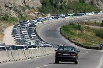 کنترل ترافیک در محور مهم رشت  قزوین و بالعکس