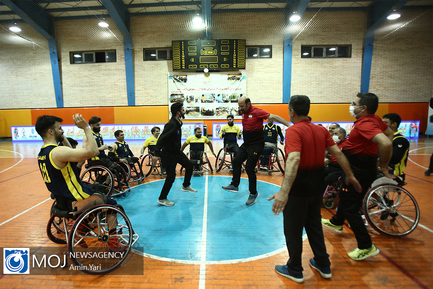 اختتامیه جام حذفی بسکتبال با ویلچر مردان