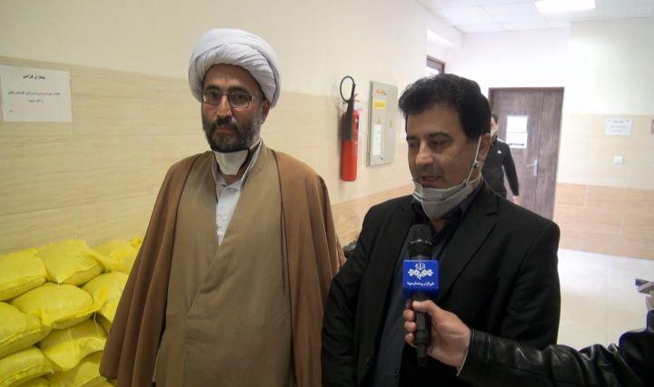 4 تن برنج به کادر درمان بیمارستان های چالوس اهدا شد