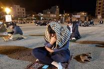 مراسمهای مذهبی ماه مبارک رمضان در شهرهای زرد هرمزگان برگزار می شود