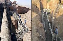 نقاط بحرانی خطوط انتقال آب استان ایمن میشود