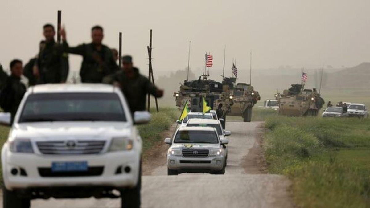 تاسیس یک پایگاه جدید توسط اشغالگران آمریکایی در شمال سوریه