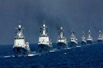 ناوگروه نیروی دریایی ارتش در روسیه پهلو گرفت