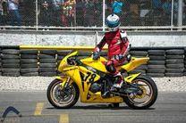 تهران قهرمان مسابقات موتورسواری سرعت ایران شد