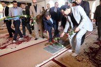 ادای احترام استاندار جدید کهگیلویه و بویراحمد به مقام شامخ شهدای یاسوج