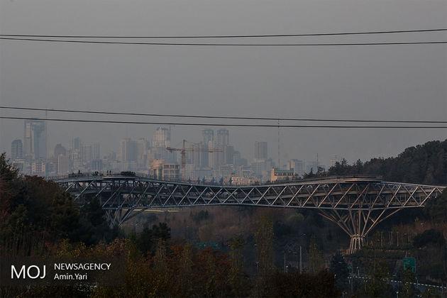 کیفیت هوای تهران در 29 فروردین ناسالم است
