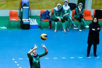 تمرینات تیم ملی والیبال بانوان با اصحاب رسانه