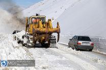 بارش سنگین برف در شمال و غرب استان اصفهان / هیچگونه انسدادی در محورهای استان نداشتیم