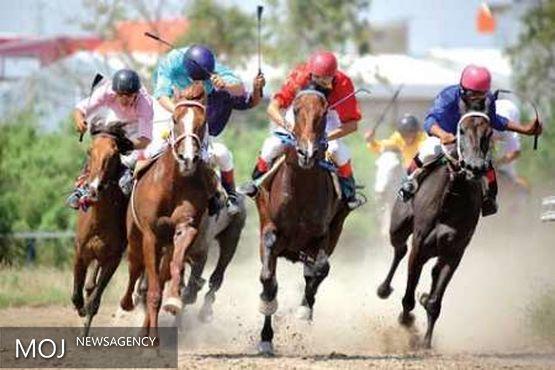 مسابقات اسب دوانی استان لرستان در بروجرد برگزار شد