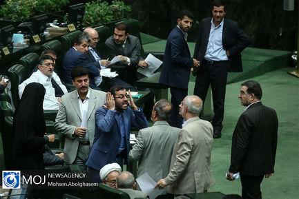 صحن علنی مجلس شورای اسلامی در نوبت عصر -  ۳۱ تیر ۱۳۹۸/ تنش