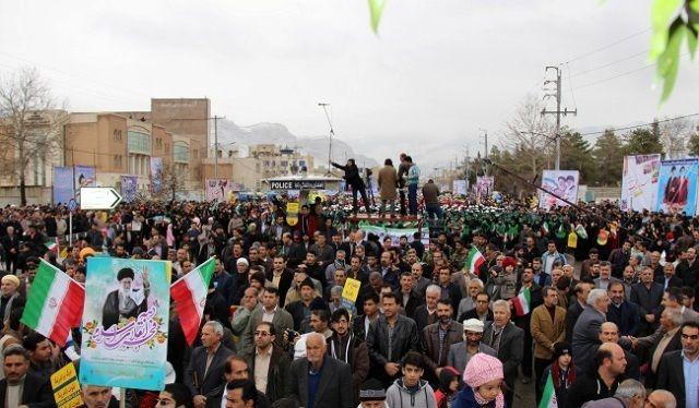 اعلام مسیرهای راهپیمایی 22 بهمن در مازندران