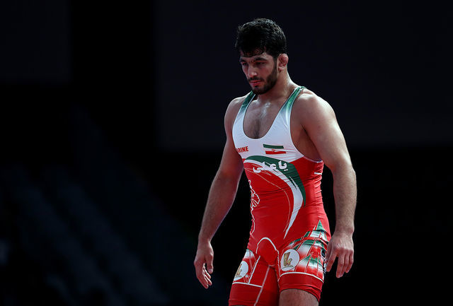 رقبای مصطفی حسین خانی در مسابقات جهانی کشتی آزاد قهرمانی جهان در وزن 74 کیلوگرم