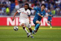 نتیجه بازی لیون و زنیت/ گل یک امتیاز سردار در لیگ قهرمانان اروپا