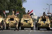 درگیری نیروهای مصری با تروریست ها در سینای شمالی
