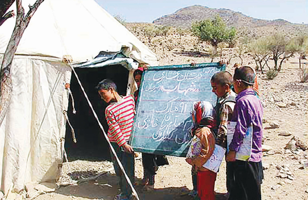 امسال 8880 دانشآموز عشایری در کرمانشاه مشغول به تحصیل میشوند