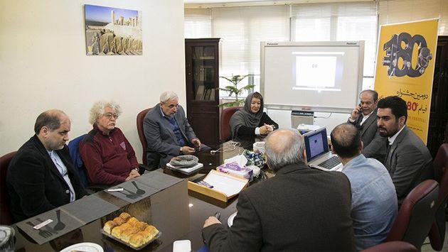 جلسه نهایی شورای داوران جشنواره فیلم 180 ثانیهای پاسارگاد برگزار شد