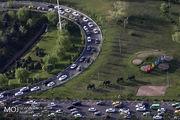 وضعیت ترافیکی بزرگراه های تهران در ۱۴ اسفندماه مشخص شد