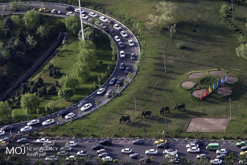 وضعیت ترافیکی  بزرگراه های تهران در صبح 14 آبان اعلام شد